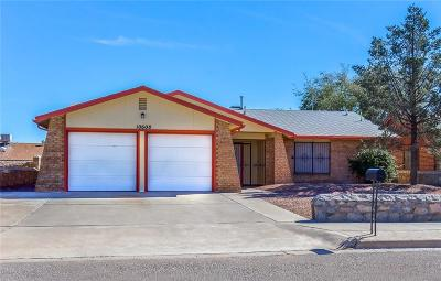 El Paso Single Family Home For Sale: 10608 Prince George Lane