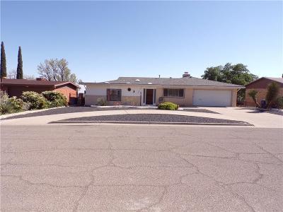 El Paso Single Family Home For Sale: 3310 Moonlight Avenue