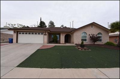 El Paso Single Family Home For Sale: 834 Via Descanso Drive