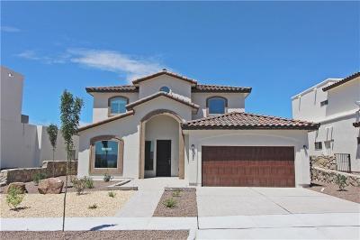 El Paso Single Family Home For Sale: 6083 Desert Whisper Court