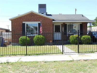 El Paso Single Family Home For Sale: 3626 Morehead Avenue