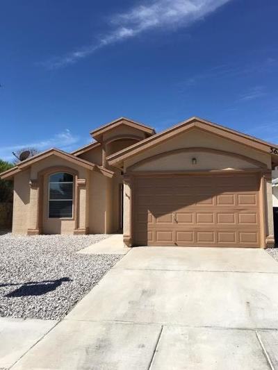 El Paso Single Family Home For Sale: 3683 Prairie Rose Street