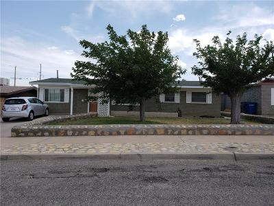El Paso Single Family Home For Sale: 3912 Olympic Avenue