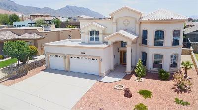 El Paso Single Family Home For Sale: 6328 Franklin Red Drive