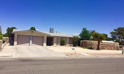 El Paso Single Family Home For Sale: 2309 Anise Drive