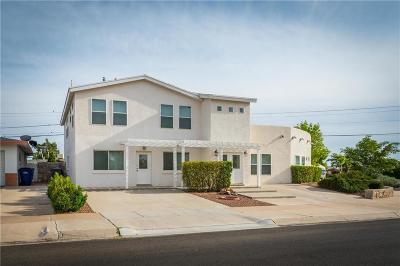 El Paso Single Family Home For Sale: 8104 Violet Way