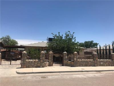 El Paso Single Family Home For Sale: 150 Cherry St. Street