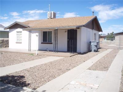 El Paso Single Family Home For Sale: 5021 Wilmoth Court