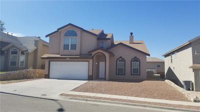El Paso Single Family Home For Sale: 256 Stoneheath Court