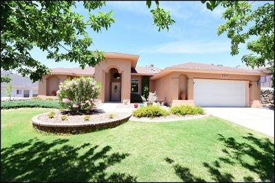 El Paso Single Family Home For Sale: 6925 Mineral Ridge Drive
