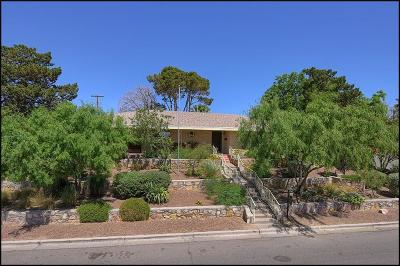 El Paso Single Family Home For Sale: 3831 Okeefe Drive