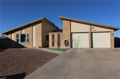 El Paso Single Family Home For Sale: 5115 Temple Court
