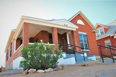 El Paso Single Family Home For Sale: 309 Lawton Drive
