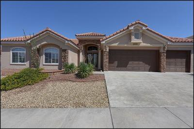 El Paso Single Family Home Active with Contingency: 6305 Franklin Red Drive