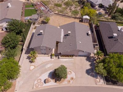 El Paso Single Family Home For Sale: 2824 Rocky Ridge Drive