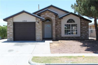 El Paso Single Family Home For Sale: 11924 Kings Crest Drive