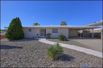 El Paso Single Family Home For Sale: 3406 Garnet Drive