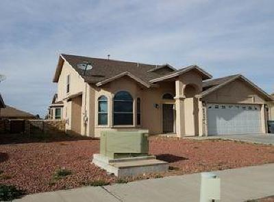 El Paso Single Family Home For Sale: 6233 Lovebird Lane