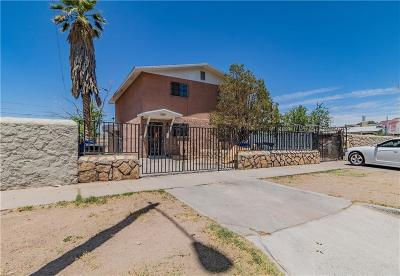 El Paso Single Family Home For Sale: 709 Tays Street #B