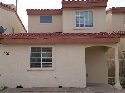 El Paso Single Family Home For Sale: 11020 Sunshine Court