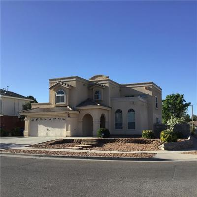 El Paso Single Family Home For Sale: 12028 Crown Woods Court