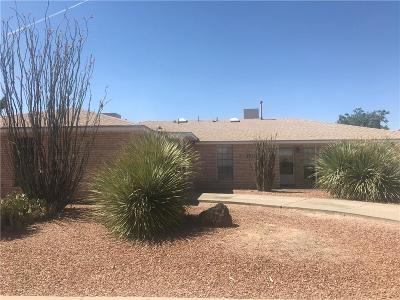 El Paso Single Family Home For Sale: 6633 Amposta