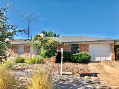 El Paso Single Family Home For Sale: 220 Fremont Lane