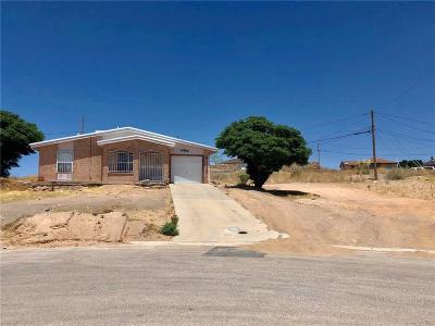 Horizon City Single Family Home For Sale: 1238 Zapata Street