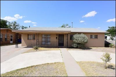 Single Family Home For Sale: 5909 Brazos Avenue