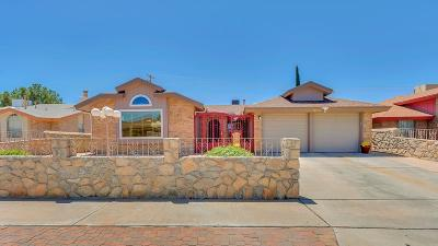 El Paso Single Family Home For Sale: 7340 Lakehurst Road