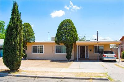 Single Family Home For Sale: 6528 Aztec Road