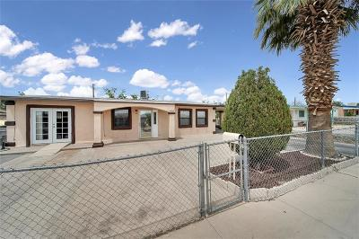El Paso Single Family Home For Sale: 7805 Santa Clara Court