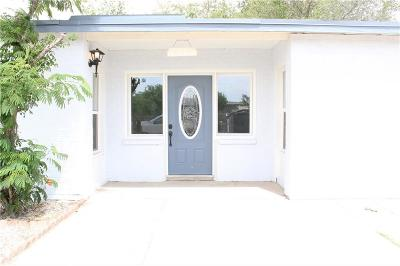 El Paso TX Single Family Home For Sale: $121,000