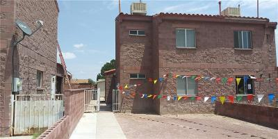 El Paso Single Family Home For Sale: 3554 Oasis Drive