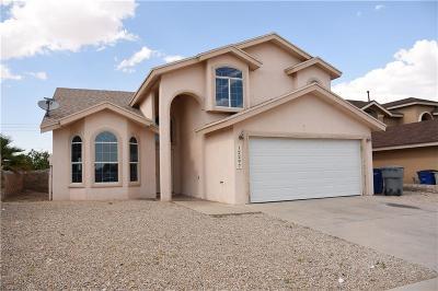 El Paso Single Family Home For Sale: 12297 Tierra Arroyo Drive
