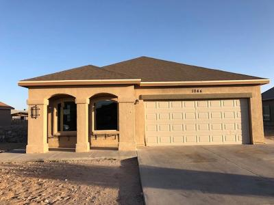 Socorro Single Family Home For Sale: 1044 Chris Forbes