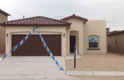 El Paso Single Family Home For Sale: 14908 Harry Flournoy Avenue