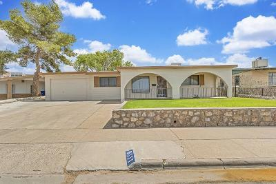 El Paso TX Single Family Home For Sale: $124,900