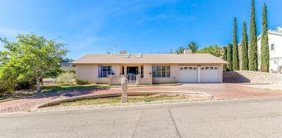 El Paso TX Single Family Home For Sale: $229,500