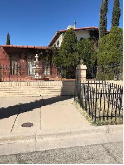 El Paso Single Family Home For Sale: 2109 Woodfin Drive