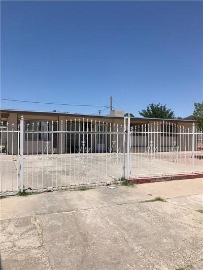 El Paso Single Family Home For Sale: 8004 Valle Placido Drive