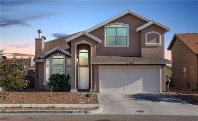 Horizon City Single Family Home For Sale: 13260 Emerald Creek Drive