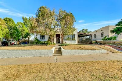 El Paso Single Family Home For Sale: 3410 Truman Avenue