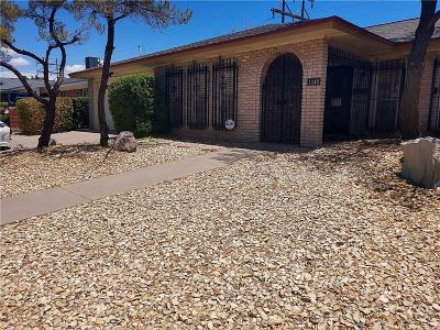 El Paso TX Single Family Home For Sale: $178,000