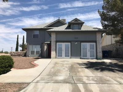 El Paso Single Family Home For Sale: 7233 Westover Drive