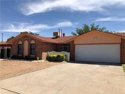 El Paso TX Single Family Home For Sale: $119,500