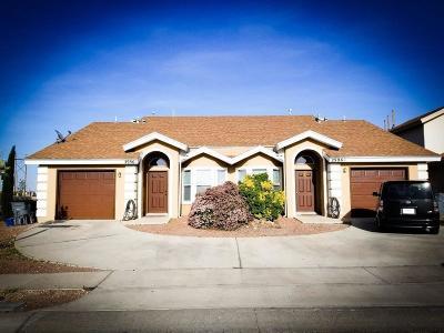 El Paso Multi Family Home For Sale: 2996 Tierra Cortez Avenue #A&B