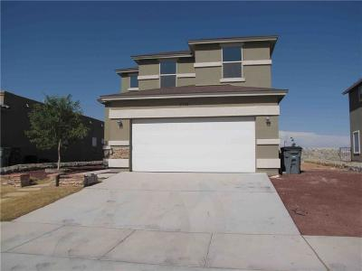 El Paso TX Single Family Home For Sale: $149,500