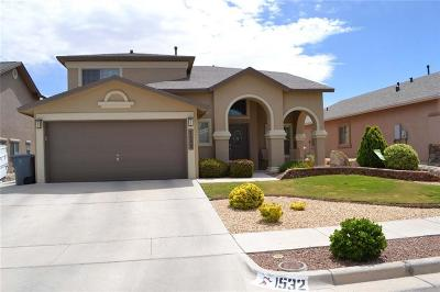 El Paso TX Single Family Home For Sale: $224,500