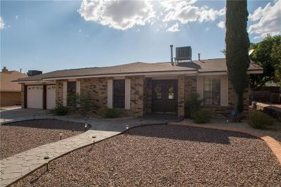 El Paso TX Single Family Home For Sale: $172,000